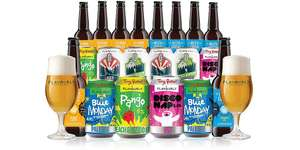 20 Craft Beers from Tiny Rebel & Four Pure delivered £19 @Flavourly