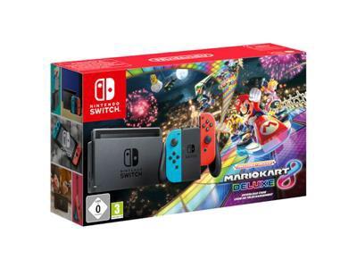 Nintendo Switch Mario Kart 8 Deluxe Bundle £279.99 @ BTShop