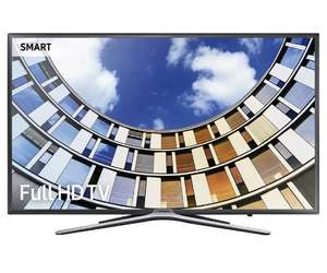 "Samsung 5 Series UE49M5500AK 49"" LED Smart TV WiFi Full HD 1080p Freeview HD £322.15 with 15% code. £3.00 delivery.  Tesco Outlet."