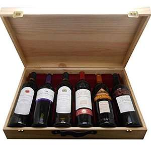 Cap Monde Worldwide Wine Selection Gift Pack, 75 cl (Case of 6) £40 @ Amazon