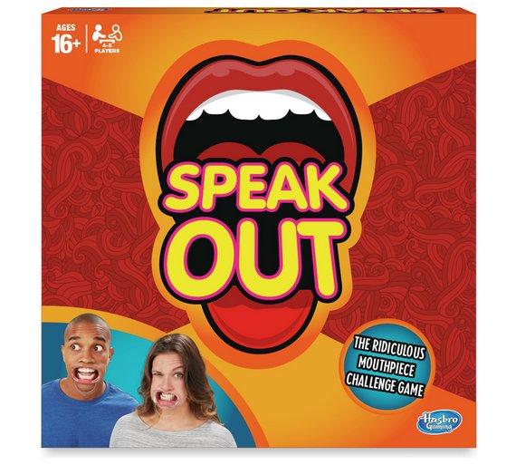 Speak Out Game from Hasbro Gaming £5.99 @ Argos