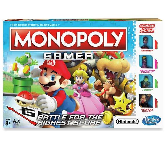 Nintendo Super Mario Monopoly Gamer £8 @ Argos
