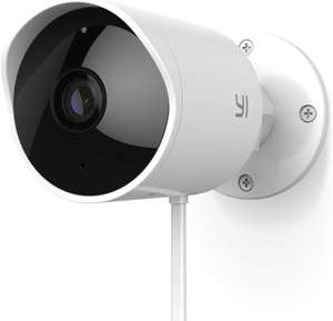 YI Outdoor Camera 1080p Home Security Surveillance £44.93 with voucher promo Sold by YI Official Store UK and Fulfilled by Amazon