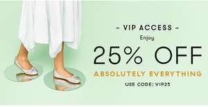 Up to 60% Sale at Fitflop and an extra 25% off with code today only