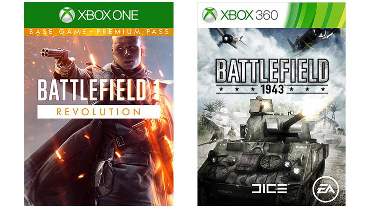 [Xbox One] Battlefield 1 Revolution & Battlefield 1943 Bundle - £1.89 - LiveKaarten