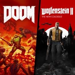 DOOM + Wolfenstein II Bundle £9.21 PSN Russia