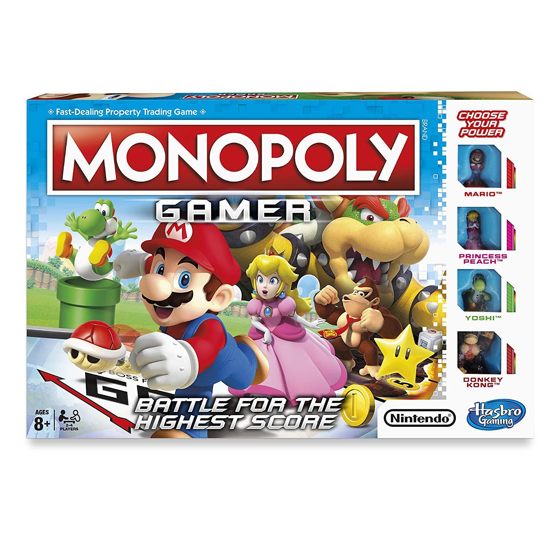 Nintendo Super Mario Monopoly Gamer £8 @ Amazon (+£2.99 none-Prime) (3 for 2)