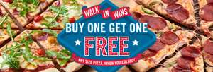 Domino's Buy 1 Get 1 Free On Any Size Pizza – Collection Only