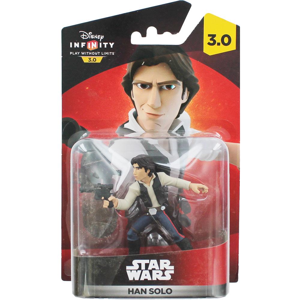 Disney Infinity 3 Star Wars Han Solo Figure £3 The Works - free c&c