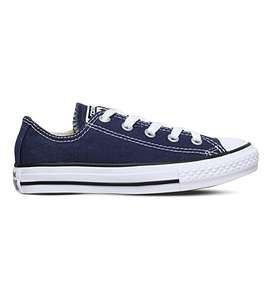 Converse kids sizes. Different varieties. Reduced at Selfridges.