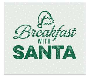 Cooked Breakfast a drink and gift with Santa £5 @ Harvester