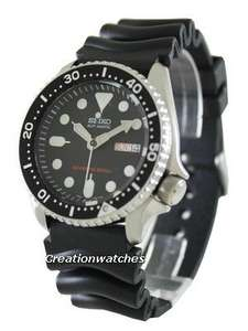Seiko SKX007k with rubber strap using code DOUBLE £121 @ Creation watches