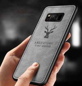 Just Pay Delivery - Reindeer Pattern Business Case Shockproof Cover for iPhone 8/8 Plus/X/XR/XS/XS Max £1.06 (great for next Xmas) @ Zapals