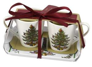 Spode Christmas Tree range upto 60% + £2.99 del under £40 prices from £4.90 2 mugs & tray £7.01, 4 wine goblets £12.40 @ Portmeirion Group