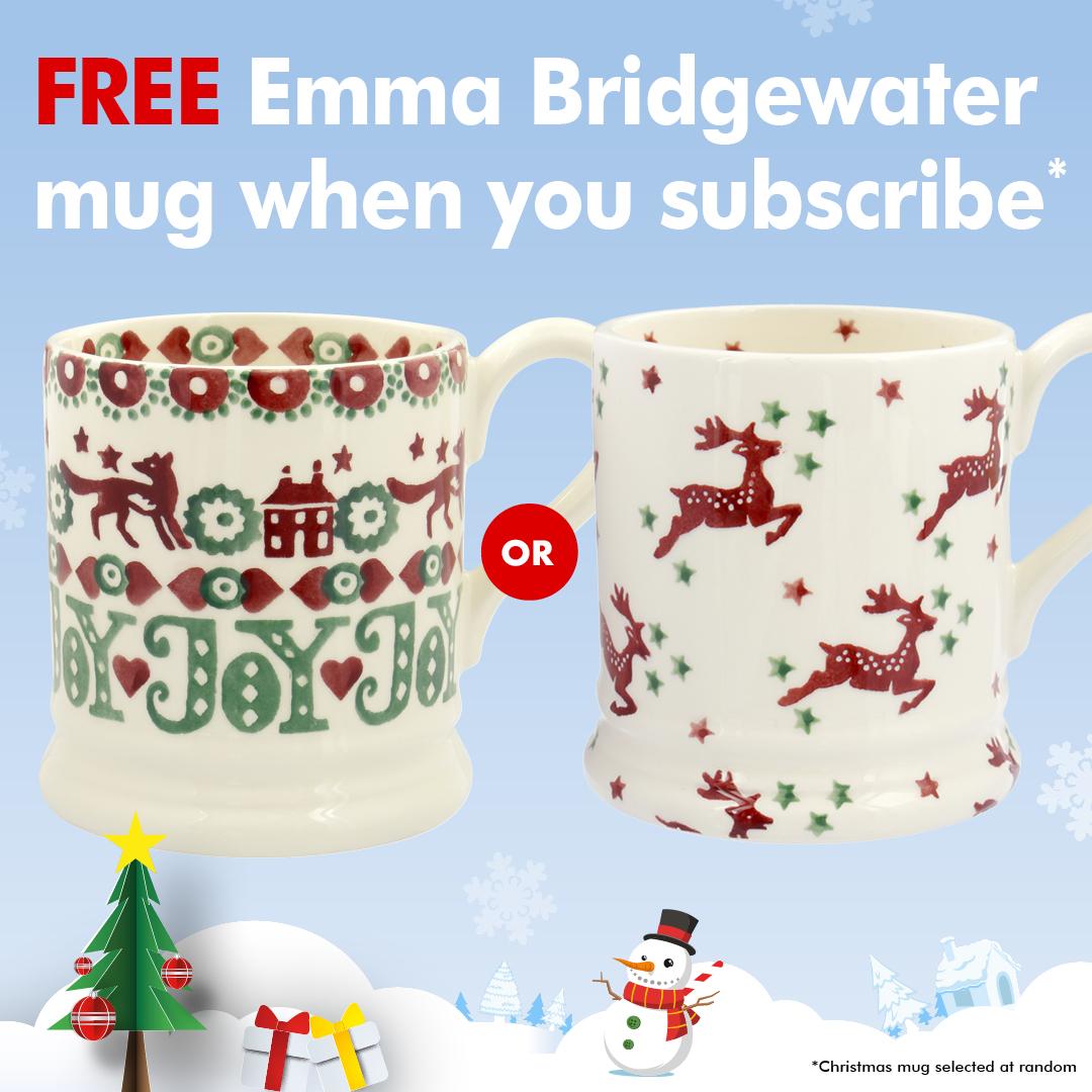 Period Living Subscription 6 isssues plus Emma Bridgewater mug £29.99 @ My favourite magazines