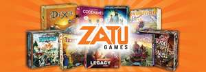 Up to 5% off at Zatu games, UK based boardgame seller, usually cheaper than Amazon