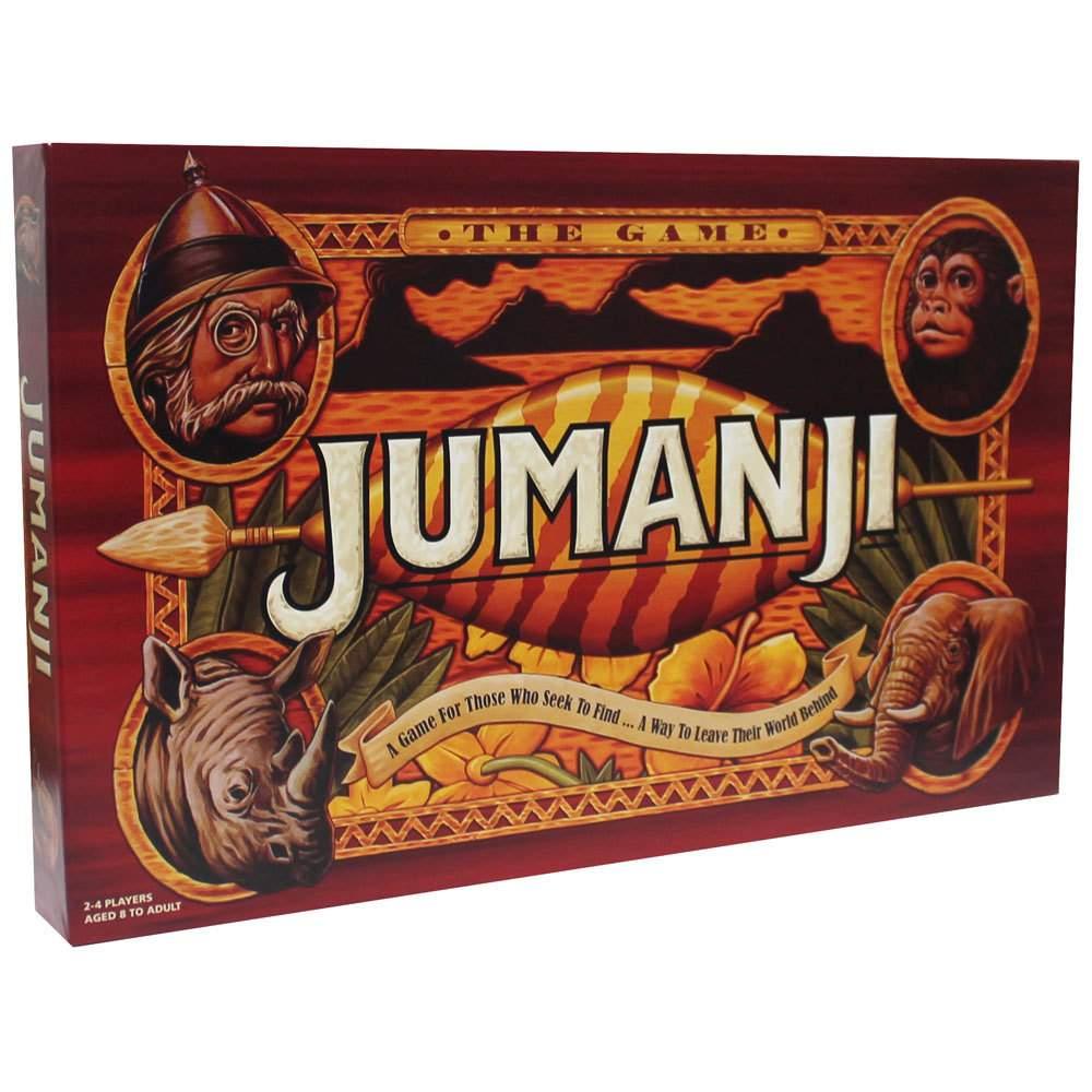 Jumanji Board Game £10 C+C with code The Works
