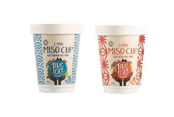 Tideford Organic Vegan Miso Cups 4 for £1 @ Heron