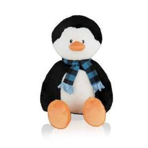 "Extra 30% off 50% off Christmas gifts with code eg 15"" Penguin now £3.49, Large Yankee candle £11.75 / £3.49 del or free over £30 @ Clintons"