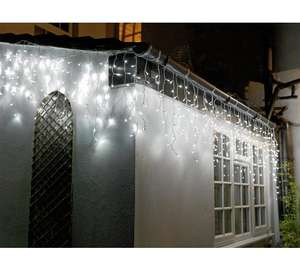 Argos Home 720 Icicle Lights - White, £15 at Argos, 960 version for £20
