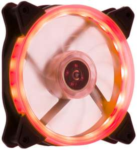 Element Gaming Red 120 mm Fan, £6.97 delivered at ebuyer