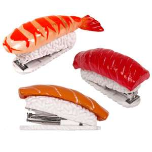 DCI Sushi Stapler 3 PACK - Assorted Designs