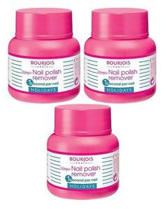 Bourjois Paris Mini Magic Nail Polish Remover PACK of 3 £2.99 / £5.98 delivered @ Clearance shed