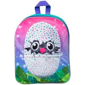 Hatchimals - Embroidered plush backpack was £10.00 now £5.00 @ Debenhams Free C & C with code.