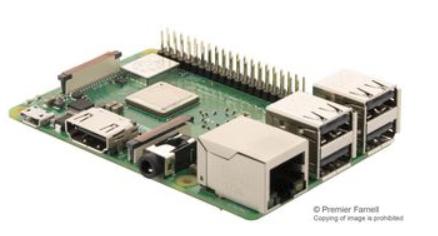 Raspberry Pi 3 Model B+ £32.40 @ CPC farnell