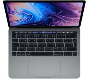 """APPLE MacBook Pro 13"""" with Touch Bar - Space Grey (2018) £1,573 @ Currys"""