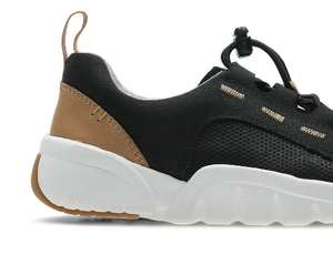 Tri Weave Kids Sport Shoes Black Smooth or Black Leather- Free collection from store, other wise P&P costs *Various Sizes* at Clarks for £19