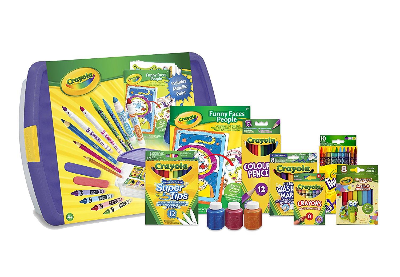 Crayola Mega Activity Tub(   SuperTips, Marker Stampers, Metallic Paint, Modeling Clay, etc)      £20 Delivered @ Amazon