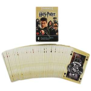 Harry Potter Playing Cards ( with code ) £2.25 @ The Works C&C