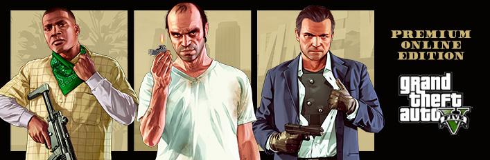 Grand Theft Auto V: Premium Online Edition £16.66 @ Steam.