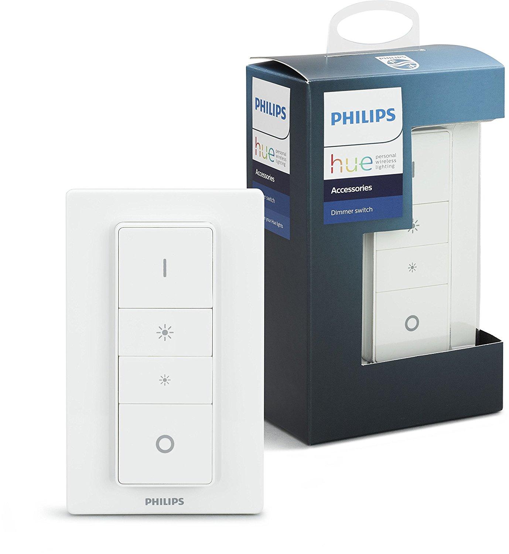Philips Hue Smart Wireless Dimmer Switch £13.07 (Prime) £17.56 (Non Prime) @ Amazon