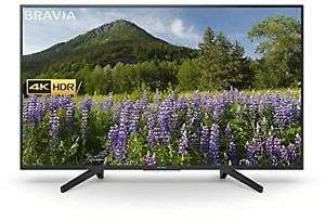 Sony BRAVIA KD49XF7003BU 49 inch 4K Ultra HD HDR Smart LED TV Freeview HD - £424 with code @ Hughes Ebay