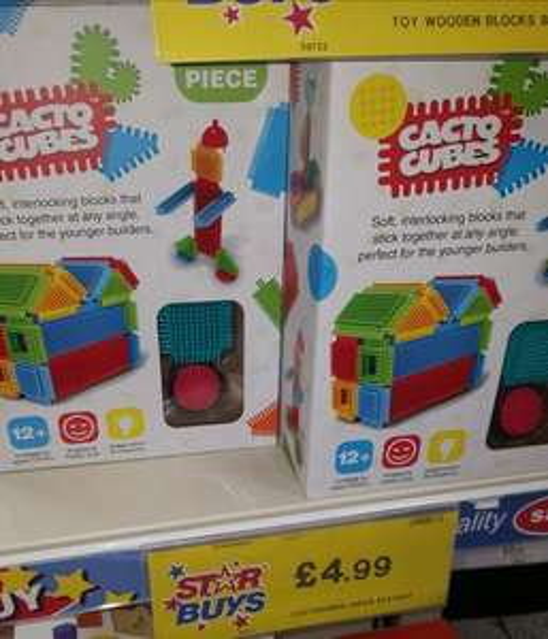 Cacto bricks (stickle bricks) 36pcs-Qaulitysave - £4.99