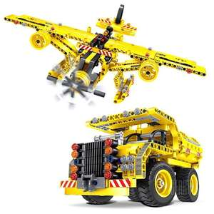 DIY Metamorphic ABS Car Truck/Plane 361pc £9.68 @ Gearbest App with coupon