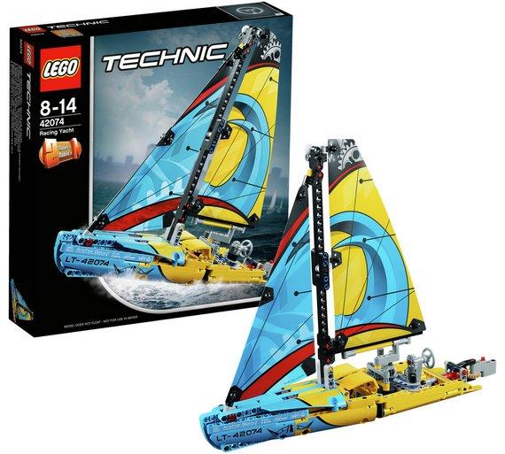 Lego Technic Racing Yacht - 42074 - Argos - £17.99