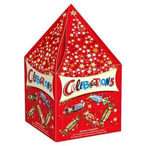 3D celebrations advent calendar (273g) (includes 5 for Christmas Day) only £1.25 at Tesco hattersley
