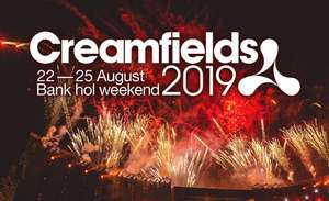Exclusive Creamfield 2019 pre-order tickets + 10% instant CB on tickets @ ticketmaster/barclaycard (Standard day tickets start at £93.50)
