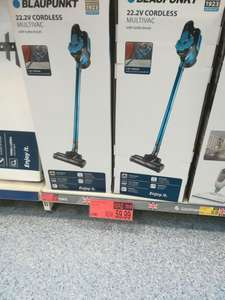 Cordless Blaupunkt vac instore at B&M for £59.99