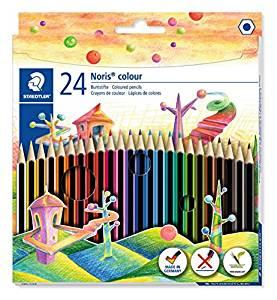 Staedtler 185 24 Noris Colour Colouring Pencil - Assorted Colours £2.37 (Prime) £7.36 (Non Prime) @ Amazon