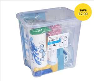 Modular Storage Box and Lid 30L was £5.00 Now £3.00 @ Wilko ( Free C&C)