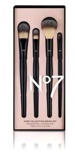 No7 Core Collection Brush Set @ Boots starts tomorrow 24hours only