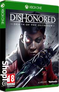 [Xbox One] Dishonored: Death of the Outsider - £5.86 - Shopto (Also eBay)