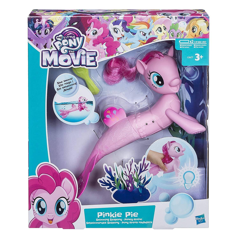 My Little Pony The Movie Pinkie Pie Swimming Seapony Playset - £8.69 (Prime) £13.18 (Non Prime) @ Amazon