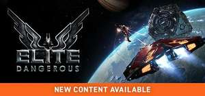 Elite Dangerous  (PC Game) on Sale at £4.79 (76% off, was £19.99) @ Steam