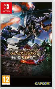 Monster Hunter Generations - Ultimate - Nintendo Switch £24.87 Delivered @ Amazon Italy