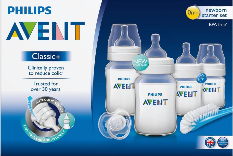 Philips Avent Classic+ Anti-Colic Newborn Starter Set - £15 @ Boots